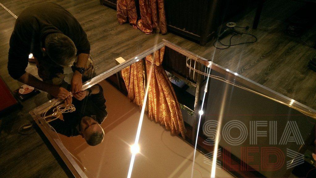 бесконечное зеркало Sofia-Led