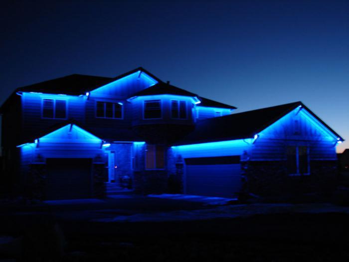 Светодиодная подсветка фасадов