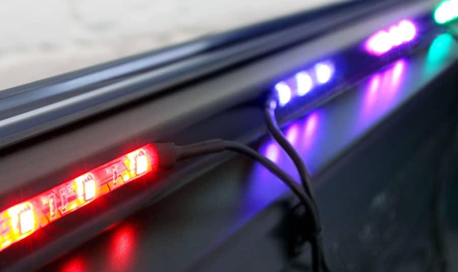 Управляемая динамическая светодиодная подсветка